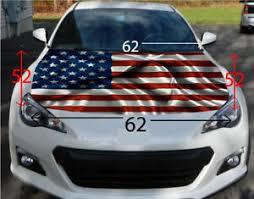 American Flag Hood Wrap Sticker Vinyl Decal Car Truck Suv Graphic Ebay