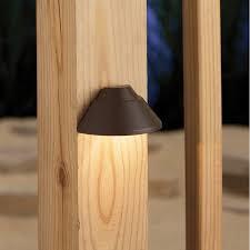 Kichler Low Voltage Hardwired Deck Light Wayfair