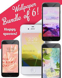 bundle of happy quotes cell phone mobile lock screen
