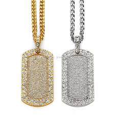 mens 18k gold silver plated chain