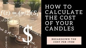 how much does it cost to make candles
