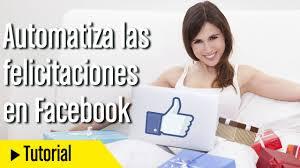 Como Felicitar Cumpleanos En Facebook Automaticamente 2015 Youtube