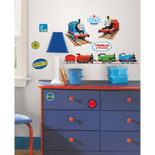 Roommates Thomas The Tank Engine Peel And Stick Wall Decal Rmk1831scs The Home Depot