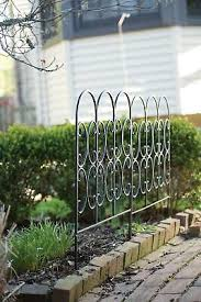 Panacea Triple Arch Finial Fence Black 28 50 Picclick Uk