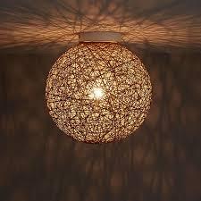 fauna natural ceiling light diy at b
