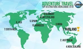 10 best adventure travel destinations