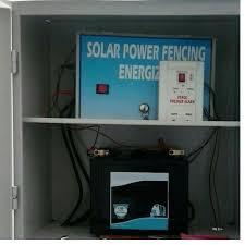 Flare Solar Silver Solar Power Fencing Energizer Rs 22000 Unit Id 14546763112
