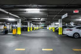 underground parking garage picture of