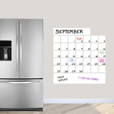 Shop Dry Erase Calendar Wall Decal 30 X 32 On Sale Overstock 14477278