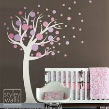 Polka Dots Circles Tree Vinyl Wall Decal Styleywalls On Artfire