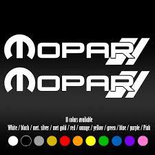 6 Mopar R Bumper Car Window Diecut Vinyl Decal Sticker Wish