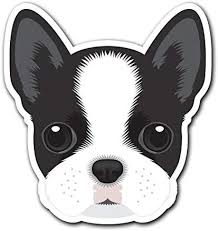 Amazon Com Boston Terrier Customi Dog Breed Decal Sticker For Car Truck Macbook Laptop Air Pro Vinyl Computers Accessories