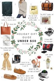 holiday gift guide under 50 life on