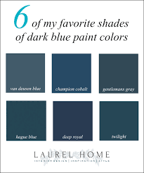 do the best dark blue paint colors give