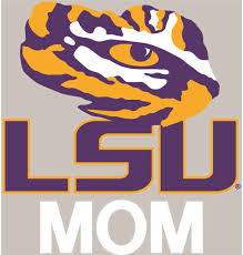 Amazon Com Stockdale Lsu Tigers Transfer Decal Mom Sports Outdoors