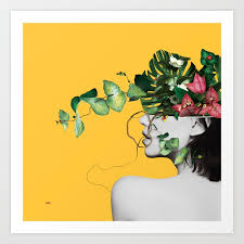 Yellow Art Prints for Any Decor Style | Society6