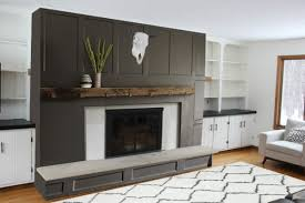 fireplace makeover ideas bright green