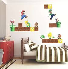 Mario Kart Wall Stickers Super Mario Room Browse This Collection Of Amazing Wall Decor Habitacion De Mario Decoracion De Mario Bros Decoracion Habitacion Nino