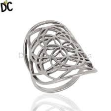 ring plain silver jewelry silver