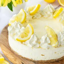 easy lemon cheesecake no bake