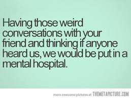 when conversations get weird the meta picture