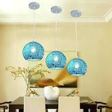cobalt blue glass pendant lights