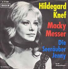 Hildegard Knef - Macky-Messer / Seeräuberjenny (1963, Vinyl) | Discogs