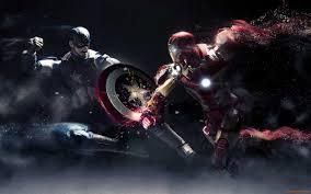 captain america vs iron man wallpapers