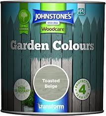 Johnstone S 309282 Garden Colours Toasted Beige 1 Litre Amazon Co Uk Diy Tools