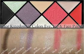 colors eye lip face palette swatches