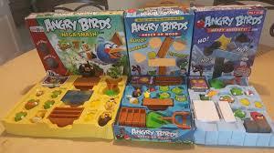 ANGRY BIRDS HAPPY HOLIDAYS MEGA SMASH KNOCK ON WOOD COMPLETE LOT ...