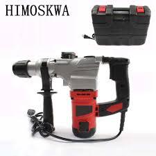 Himoskwa 220 V 1200 W Đa Năng Búa Điện Kép Điện Đa Năng Pickaxe Cấp Công  Nghiệp Máy Khoan Tác Động Điện Dụng Cụ - Aliexpress
