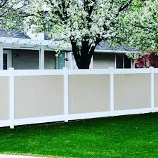 Wholesale Vinyl Fencing On Twitter 2 Tone Vinyl Privacy Fencing Is An Amazing Piece To Have For Any Home 2 Tone Vinyl Privacy Panels 78 61 Panel 2 Tone Vinyl Privacy Estate