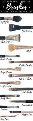 your guide to 15 makeup brushes
