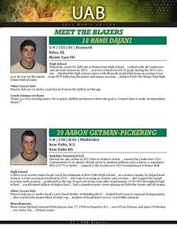2013 UAB Men's Soccer Media Guide by UAB Media Relations - issuu