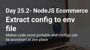 25 2 node emerce extract config to