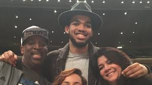 NBA star Karl-Anthony Towns ...