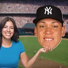 Aaron Judge: Big Head - Officially Licensed MLB Foam Core Cutout