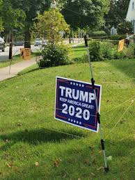 New Bedford School Committee Member Installs Electric Fence Around Trump Campaign Sign After Reporting Several Signs Stolen Masslive Com