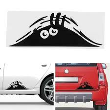 Car Sticker Removable Funny Creative 3d Big Eyes Car Decal Black Sticker Peeking Monster Exterior Sticker Car Accessories Car Stickers Aliexpress