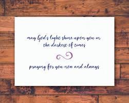 Praying for you / christian sympathy condolence card | Etsy