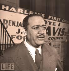 "Harlem's Benjamin Jefferson ""Ben"" Davis Jr., 1903 - 1964"