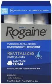 rogaine hair regrowth treatment foam 2