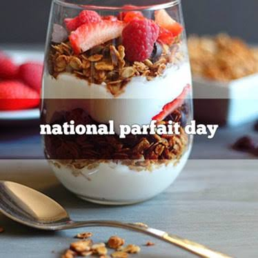 Image result for national parfait day""