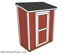3x6 lean to shed plans myoutdoorplans