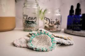 reusable cotton pads zero waste diy