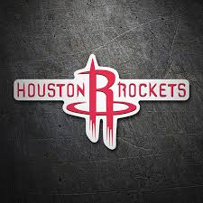 Sticker Nba Houston Rockets Schild Muraldecal Com