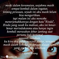 meski dalam keramaian wa quotes writings by mas awah