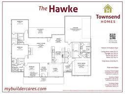 hawke floor plan townsend homes