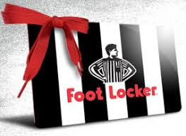 foot locker 100 gift card email